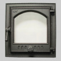 Дверца каминная одностворчатая со стеклом 410 SVT